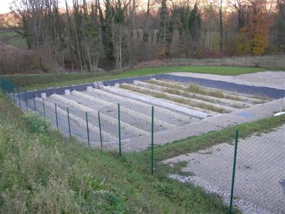 Cette station d'une capacité de 400 E.H est implantée à proximité d'un ruisseau de faible débit d'étiage.
